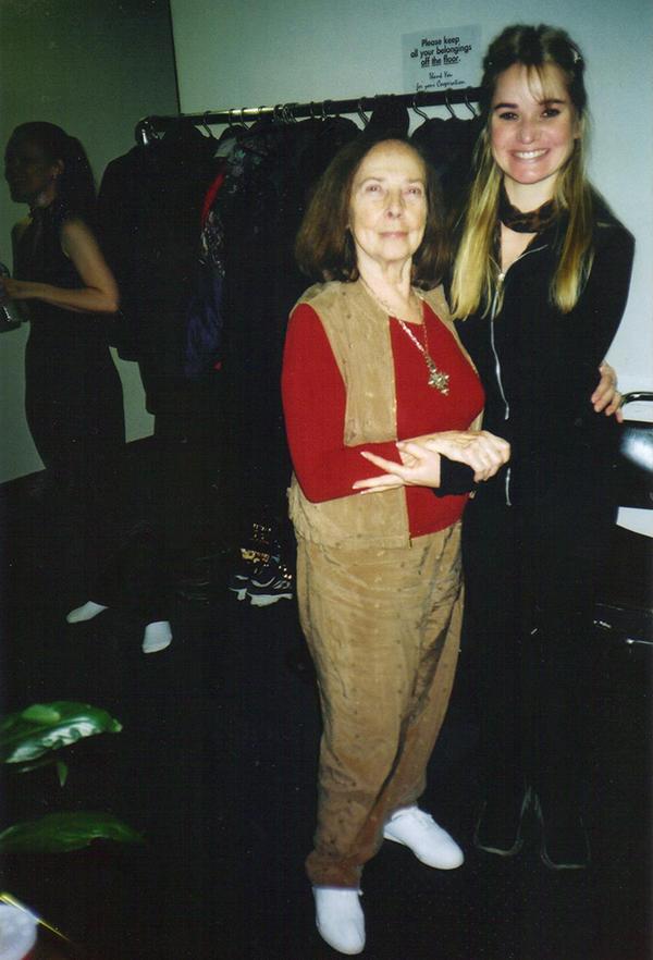 Romana Kryzanowska at Drago's gym in New York